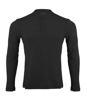 Triple Aught Design - Huntsman 200 Henley Black Schwarz