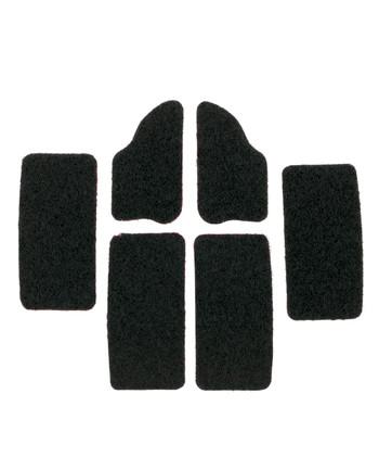 Busch - Flauchflächensatz 6-teilig schwarz