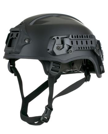 Busch - AMH-2 Helm mit Rail & NVG schwarz