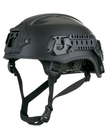 Busch - AMH-2 Helmet with Rail & NVG black