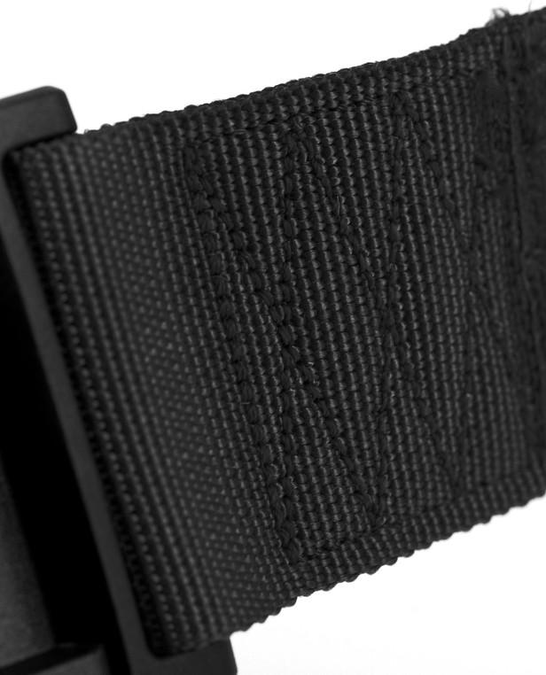 md-textil Untergürtel SNAP-Buckle Schwarz