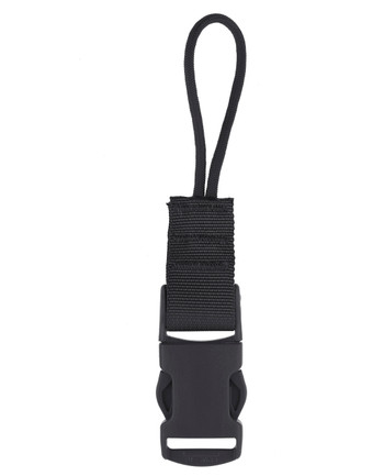 md-textil - QD Adapter Cord Black