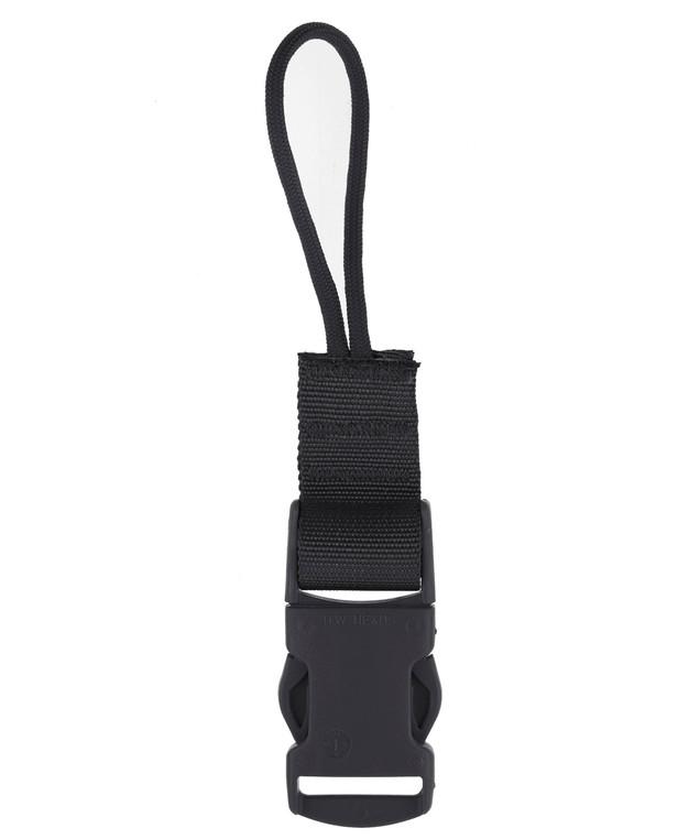 md-textil QD Adapter Cord Schwarz