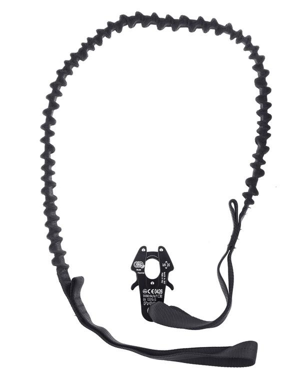md-textil Flexible Operator Leash Black