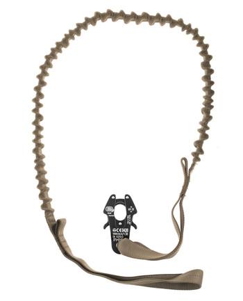md-textil - Flexible Einsatzleine Coyote Brown