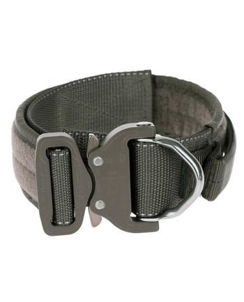 md-textil - Arbeitshalsband 45mm Magnetgriff Steingrau Oliv