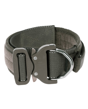 md-textil - Labor collar 45mm Magnet handle Stonegrey Olive