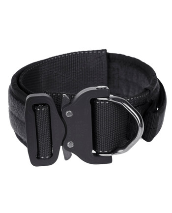 md-textil - Labor collar 45mm Magnet handle Black