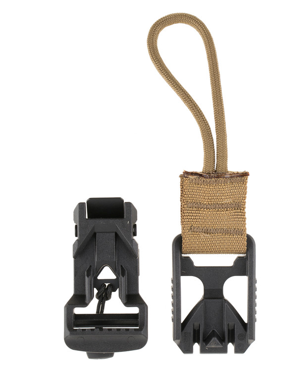 md-textil V-Buckle Adapter Cord Coyote Brown