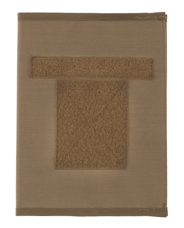 md-textil DINA5 Cover inkl. Oxford Block Coyote Braun