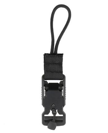 md-textil - V-Buckle Adapter Cord Black