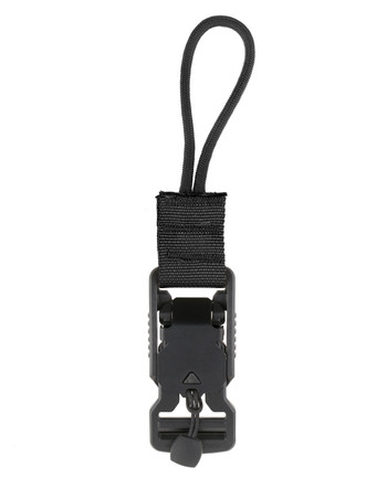 md-textil - V-Buckle Adapter Cord Schwarz