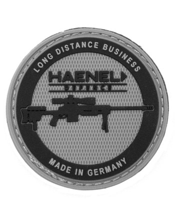 Haenel - Long Distance Business Round Rubber Patch