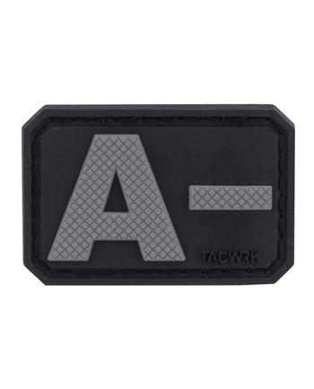 TACWRK - Blutgruppe PVC A- Grey