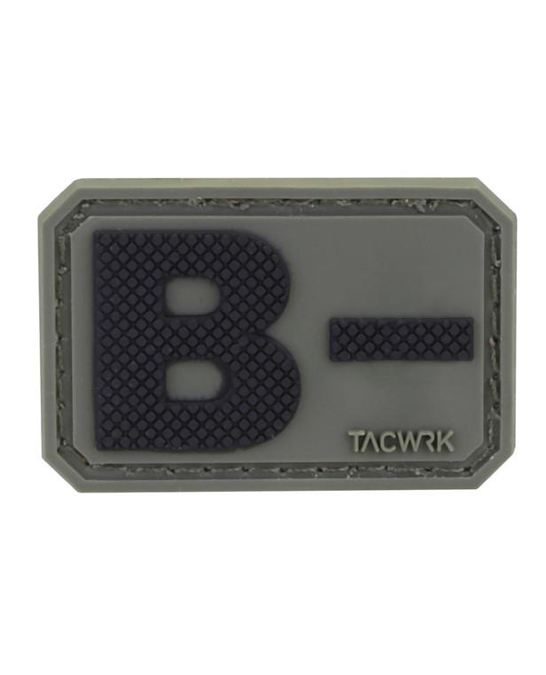 TACWRK Blutgruppe PVC B- Olive