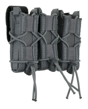 High Speed Gear - Triple Pistol TACO Belt Mounted Magazintaschen Wolf Gray