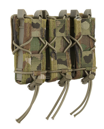 High Speed Gear - Triple Pistol TACO Belt Mounted Magazintaschen Multicam