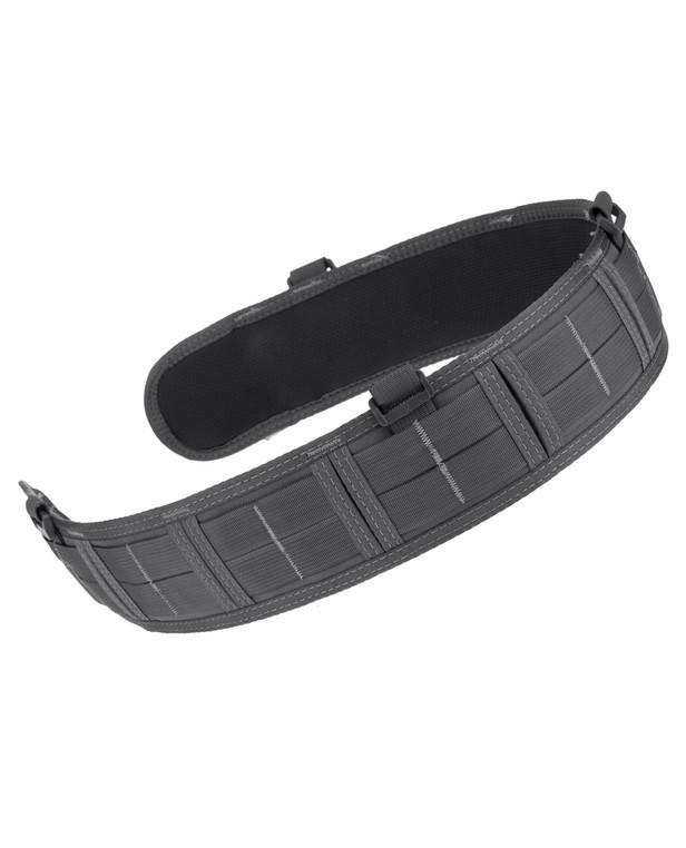 High Speed Gear Slim Grip Padded Belt Slotted Wolf Gray