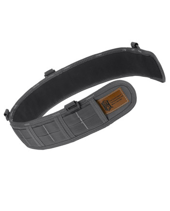 High Speed Gear - Slim Grip Padded Belt Slotted Wolf Gray
