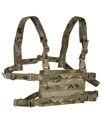 High Speed Gear - Light Chest Rig Platform Multicam