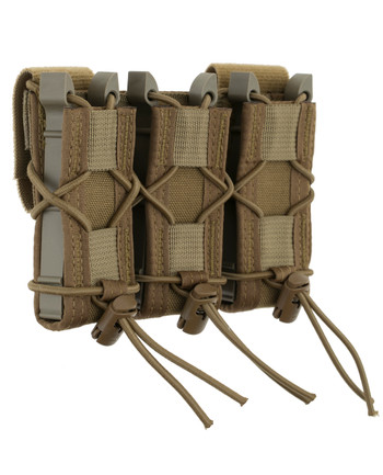 High Speed Gear - Triple Pistol TACO Belt Mounted Coyote Brown