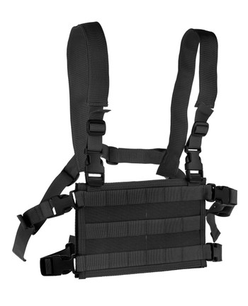 High Speed Gear - Light Chest Rig Platform Black Schwarz