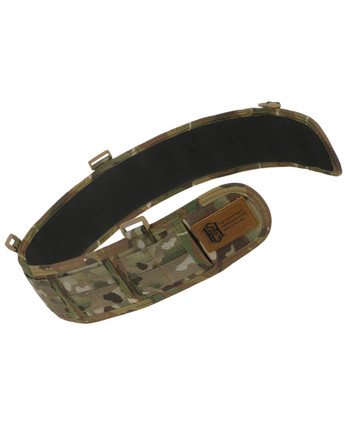 High Speed Gear - Slim Grip Padded Belt Slotted Coyote Brown