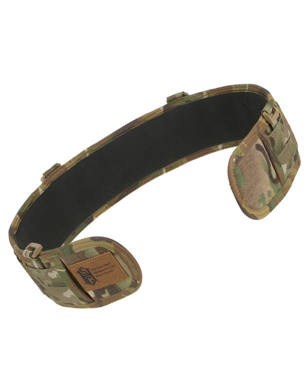 High Speed Gear Slim Grip Padded Belt Slotted Multicam