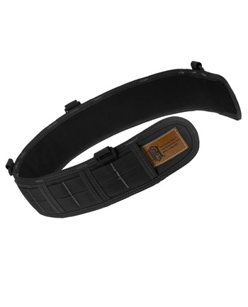 High Speed Gear - Slim Grip Padded Belt Slotted Black Schwarz