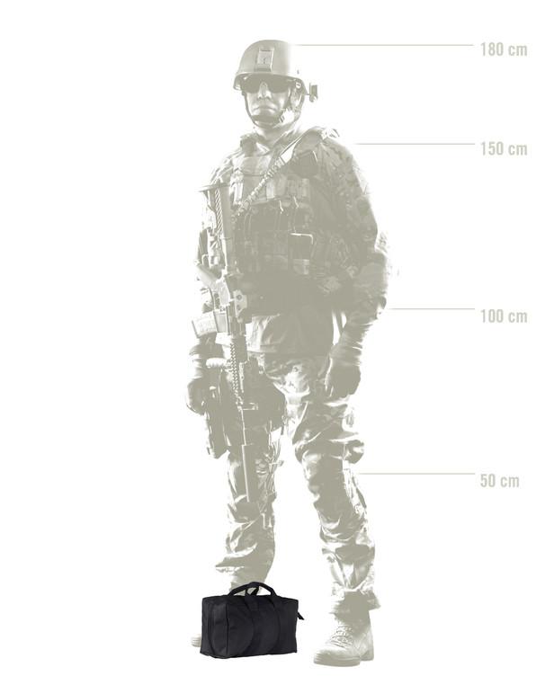 ITS Tactical Gizmo Bag Black Schwarz
