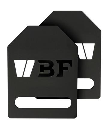 BeaverFit - SOE 2x7lb Flat Plates Gewichtsplatten Set