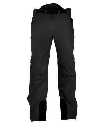 TASMANIAN TIGER - Dakota Rain Pants Black Schwarz