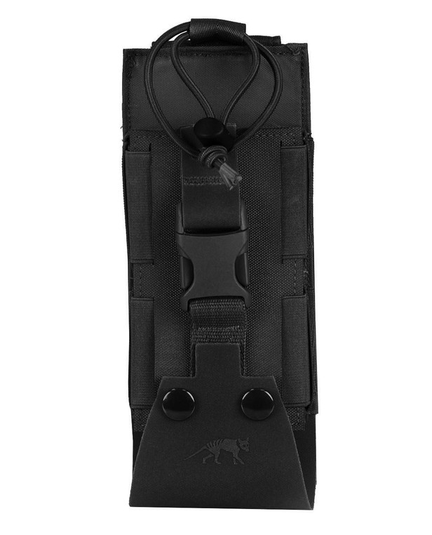TASMANIAN TIGER Tac Pouch 2 Radio MK II Black