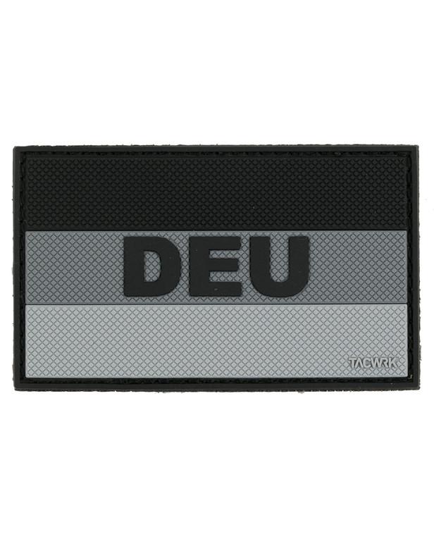 TACWRK German Flag DEU Patch SWAT