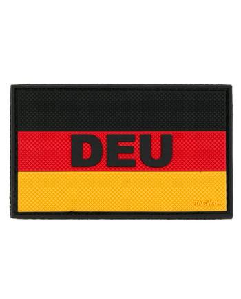 TACWRK - Deutschlandflagge DEU Patch Schwarz Rot Gold
