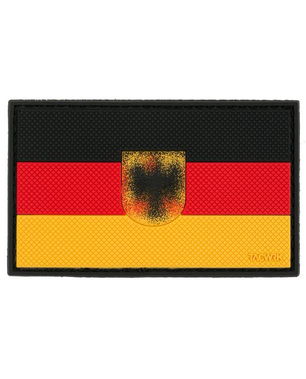 TACWRK Deutschlandflagge Wappen Schwarz Rot Gold