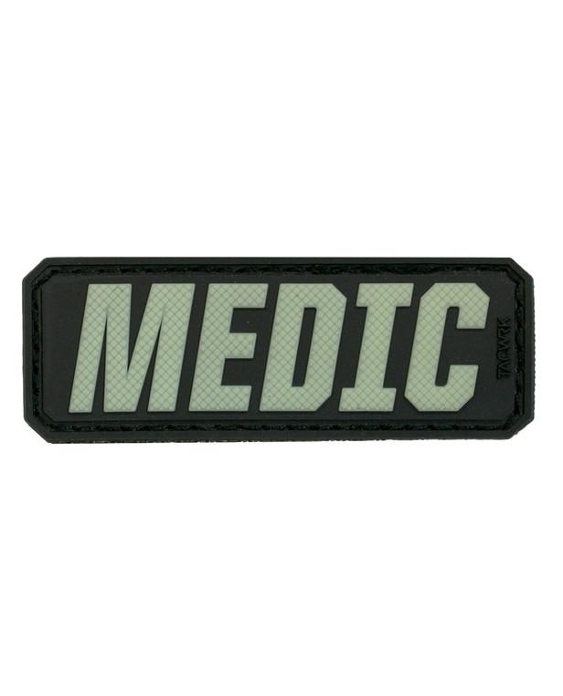 TACWRK Medic Lettering GITD