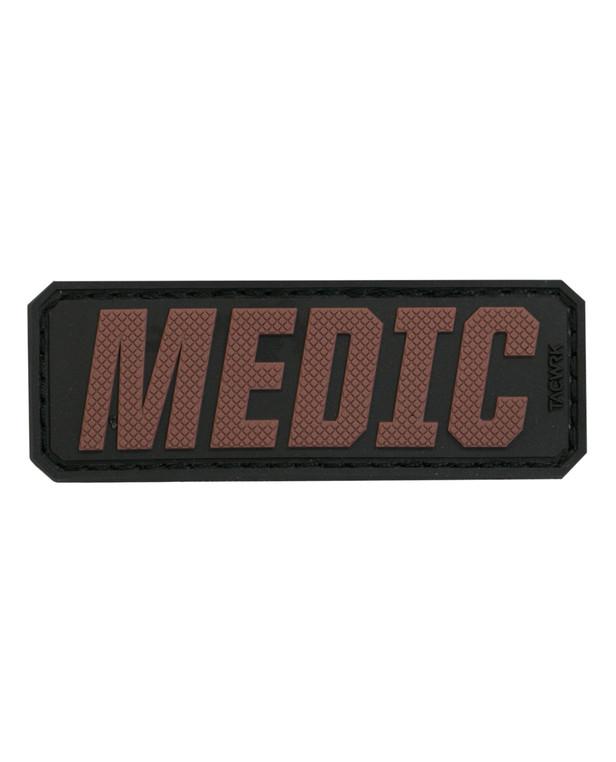 TACWRK Medic Schriftzug Coyote