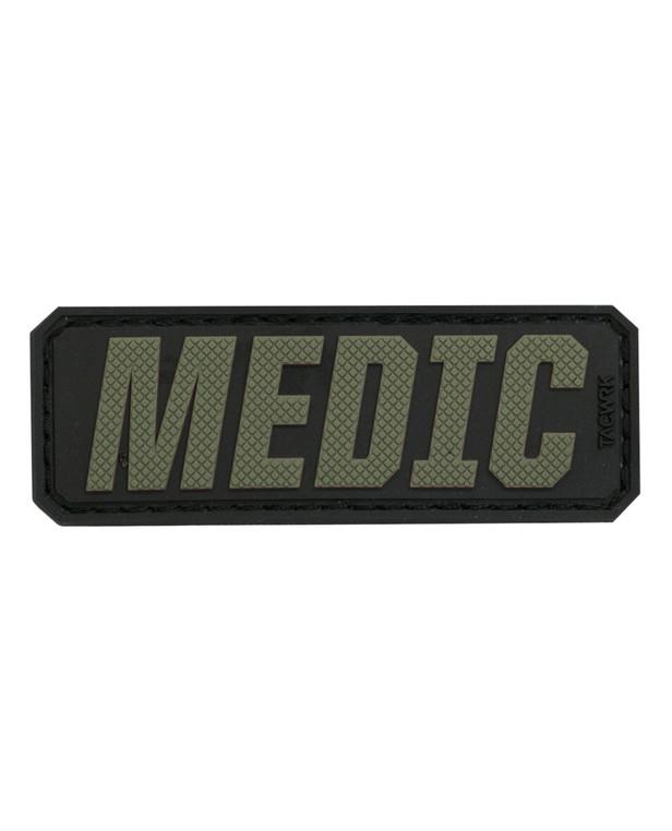 TACWRK Medic Lettering Olive