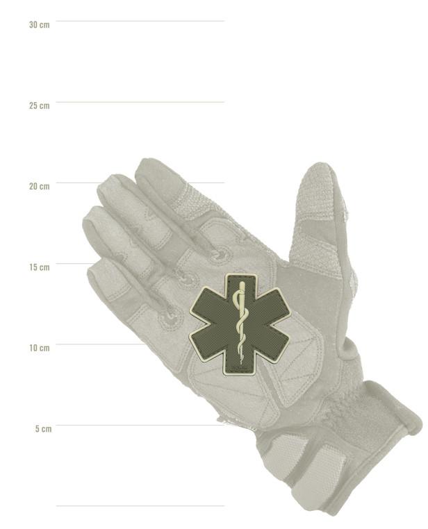 TACWRK Paramedic Patch Oliv/GITD