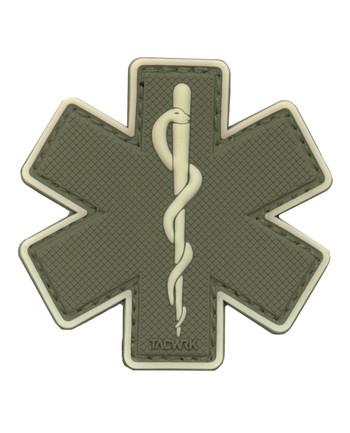 TACWRK - Paramedic Patch Olive/GITD