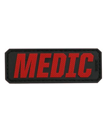 TACWRK - Medic Lettering Red