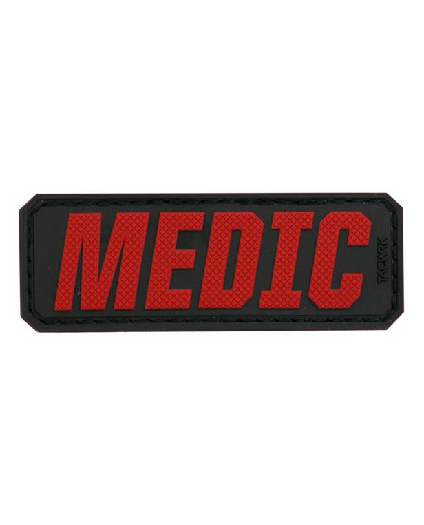 TACWRK Medic Schriftzug Rot