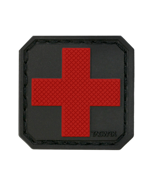 TACWRK Medic Cross Red
