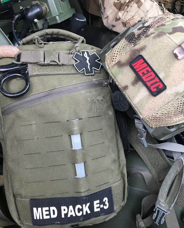 TACWRK Paramedic Patch Coyote/GITD