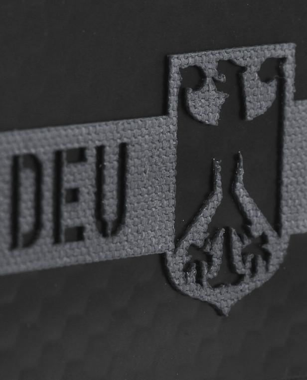 TACWRK Deutschland Flagge Grau IR SOLAS