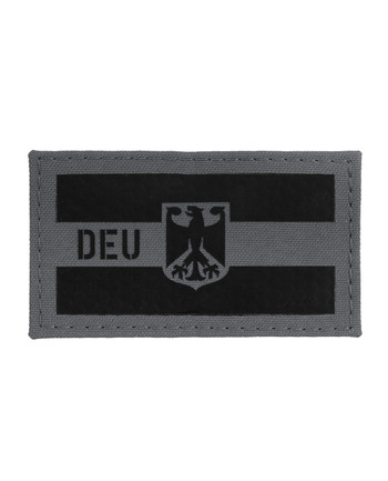 TACWRK - German Flag Grey IR SOLAS