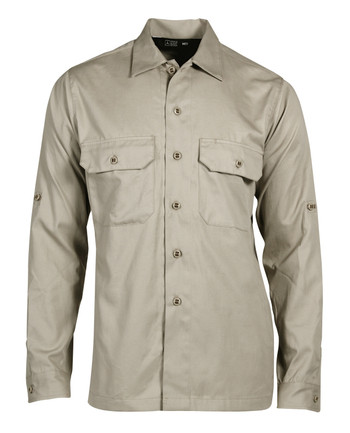 Triple Aught Design - Hemd Overland Long Sleeve Shirt Khaki