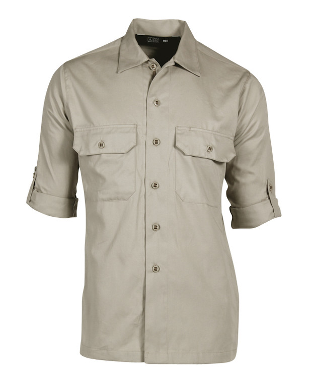 Triple Aught Design Overland Long Sleeve Shirt Khaki