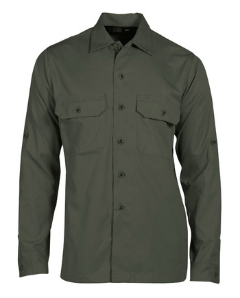 Triple Aught Design - Hemd Overland Long Sleeve Shirt Oliv